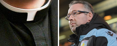 Lambert accuses vicar of 'disrespect'