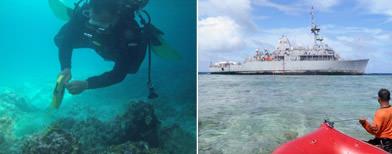 U.S. Navy to pump oil from Tubbataha ship
