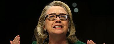 Clinton defends Benghazi attack's handling
