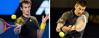 Murray v Djokovic - men's final live!