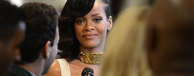 Rihanna posts bold new photos online