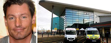 Dean Gaffney hospitalised after crash