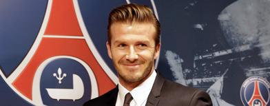 Beckham to donate PSG salary to charity