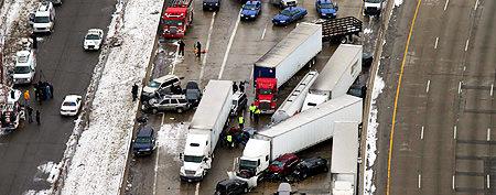 Canadians killed in massive Detroit highway crash