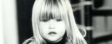 Supermodels share their kiddie pics
