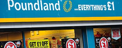 Poundland shopping - penny smart?