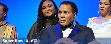 Where Ali was during 'near death' rumors