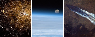 Astronaut's stunning space images
