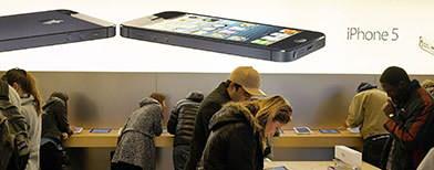 Apple extends lead in smartphone market