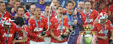 United crowned champions... by bookie