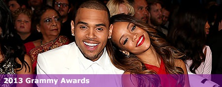 Rihanna, Chris Brown's awards show PDA