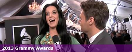 Katy Perry's distracting dress at Grammys