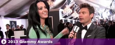 Katy's dress proves a distraction on red carpet