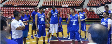 First Gilas practice: 'Encouraging'