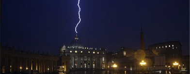 The day Pope Benedict XVI resigned