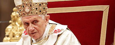 Pope Benedict in shock resignation