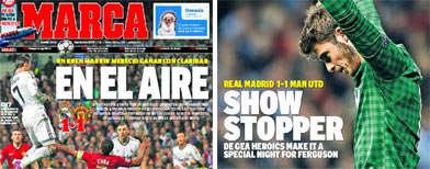 British press confident, Spanish worried