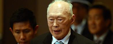 Lee Kuan Yew hospitalised after mini-stroke