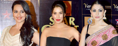 Celebrities hit the Star Guild Awards
