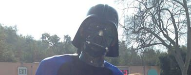 NBA legend's goofy Darth Vader pic