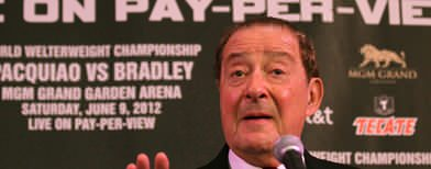 Arum's approach to convince Marquez