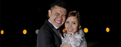 Paolo ties knot with long-time GF Sam