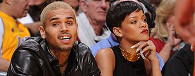 Rihanna & Chris Brown in splitsville again