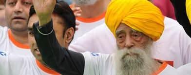 Oldest marathoner calls it a day