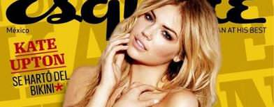 Model Watch: Kate Upton on 12 sexy covers