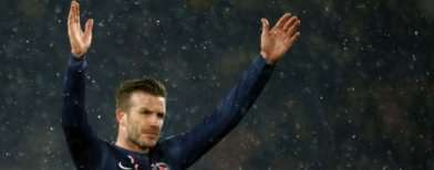 Beckham makes dream debut for PSG