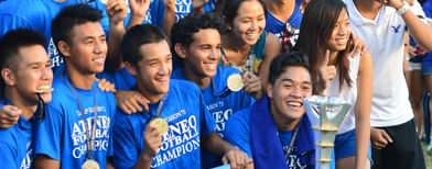 Ateneo wins UAAP football crown