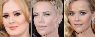 Oscars' red carpet beauties
