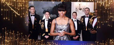 US First Lady's surprise video at Oscars