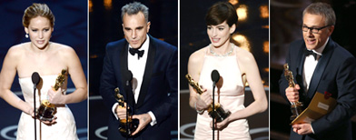Oscars 2013: The winners are