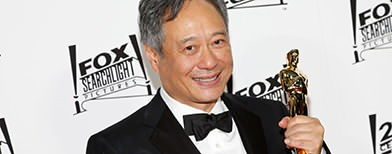 Ang Lee's Oscar spotted roadside