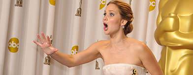Jennifer's second 'oops' moment