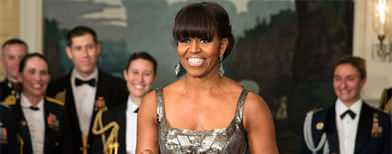 Michelle Obama gets a 'thumbs down'