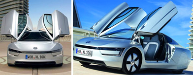 Volkswagen XL1 offers 111 kmpl mileage