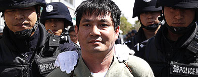 Chinese execution 'utterly barbaric'