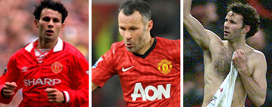 Giggs agrees to play on into his 40s