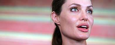 Angelina Jolie gets back on director's chair