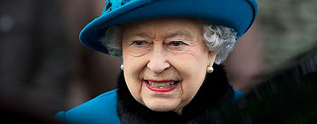 Queen hospitalized with stomach infection