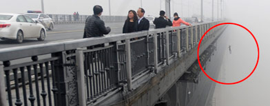 Terror on a bridge caught in photos