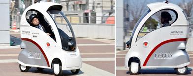 Meet Hitachi's self-driving vehicle
