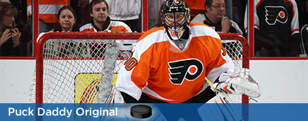Flyers goalie losing confidence in his team