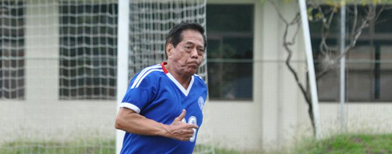 Meet the oldest Pinoy footballer