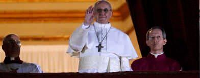 Hail the new Pope, Jorge Mario Bergoglio