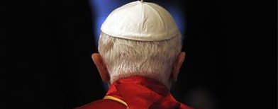 Ex-pope an 'invisible' conclave presence