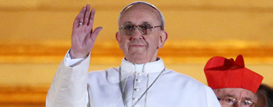 Celebrations erupt to greet new Pope