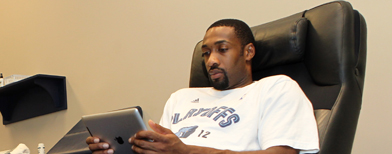 Catching up with Gilbert Arenas